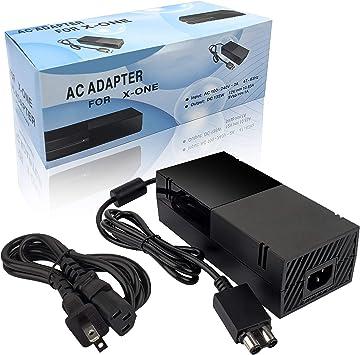 Xbox One Power - Fuente de alimentación para Xbox One (220 W, con Cable de alimentación, 12 V, 10,83 A): Amazon.es: Electrónica