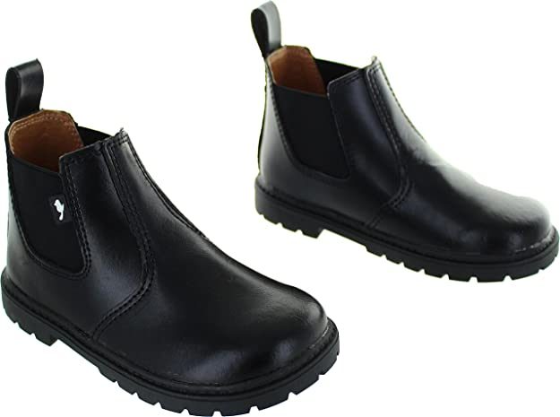 fd9dbf66 Chipmunks Boys'' Ranch Chelsea Boots Black, 5 Child UK 22 EU: Amazon.co.uk:  Shoes & Bags