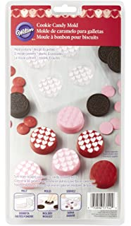 Wilton 2115-0142 Mini Hearts Cookie Candy Mold