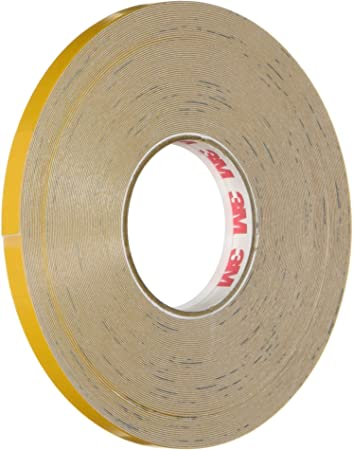 .25-Inch by 50-Foot Red 3M Scotchcal Reflective Striping Tape