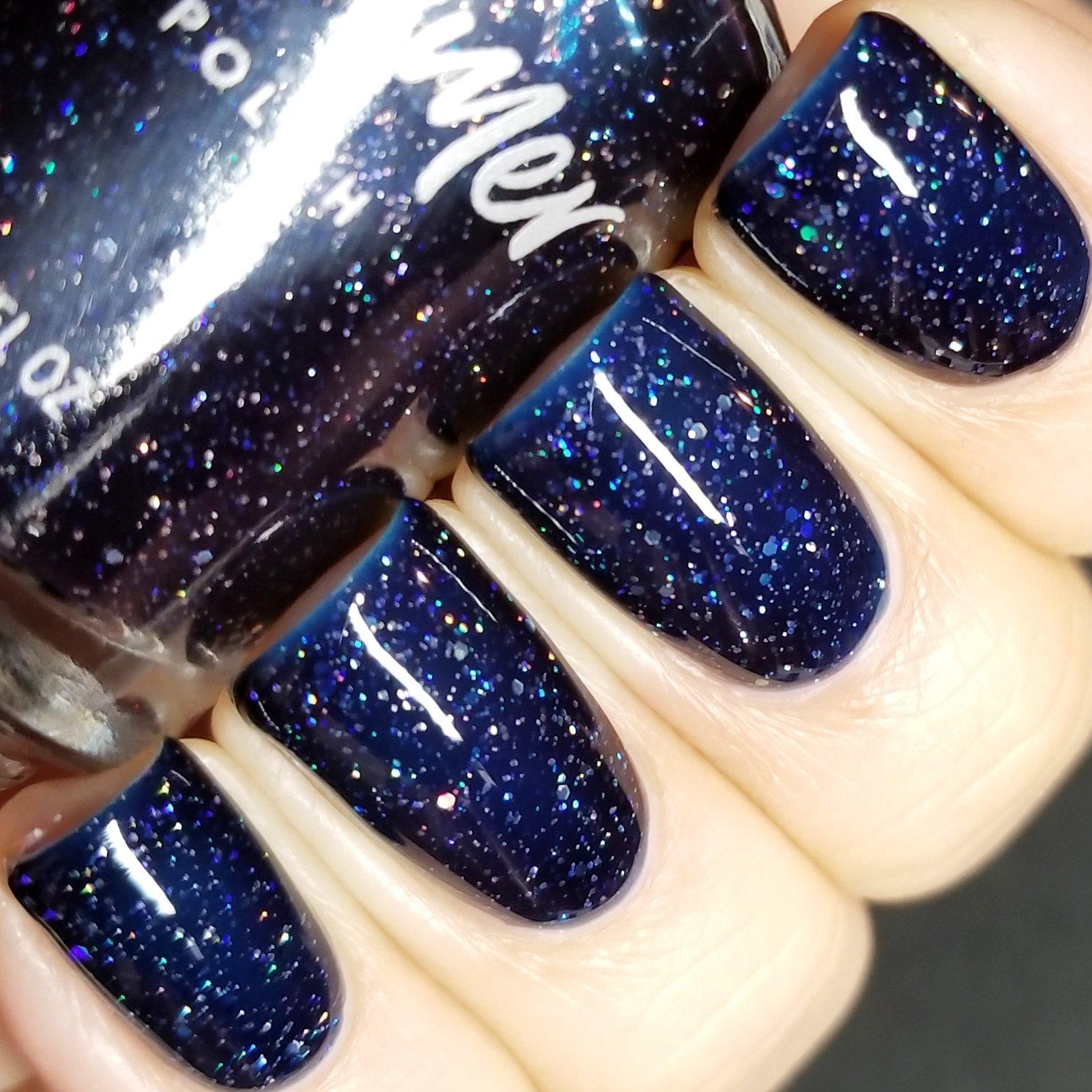 Amazon.com : Witch Way Glitter Nail Polish : Kb Shimmer Nail Polish ...