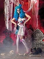 Déguisement Adulte Costume Halloween Femme Candy Girl Zombie Katy Perry Medium