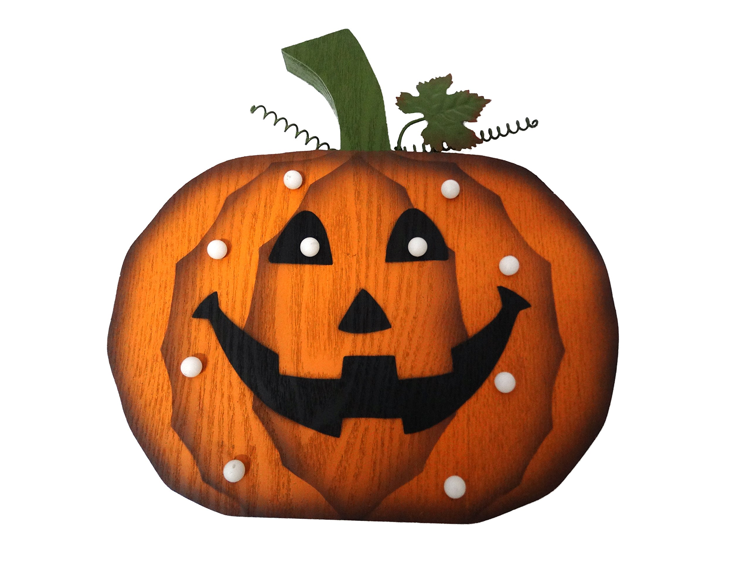 Alpine Corporation WQA508 Pumpkin Decor with LED Lights