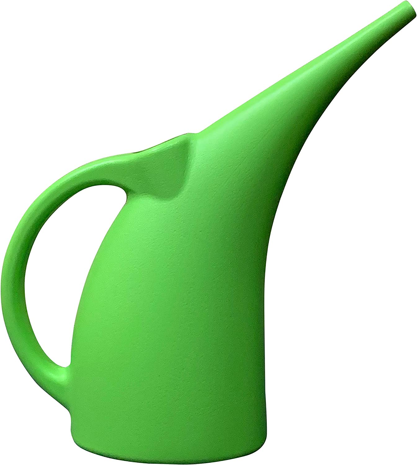 Kool Products Watering Can Indoor | Small Indoor Watering Cans for House Plants | Mini Plant Watering Cans | Plastic Watering Cans (1 Pack) 1/2 Gallon Plant Watering Can BPA Free (Green)