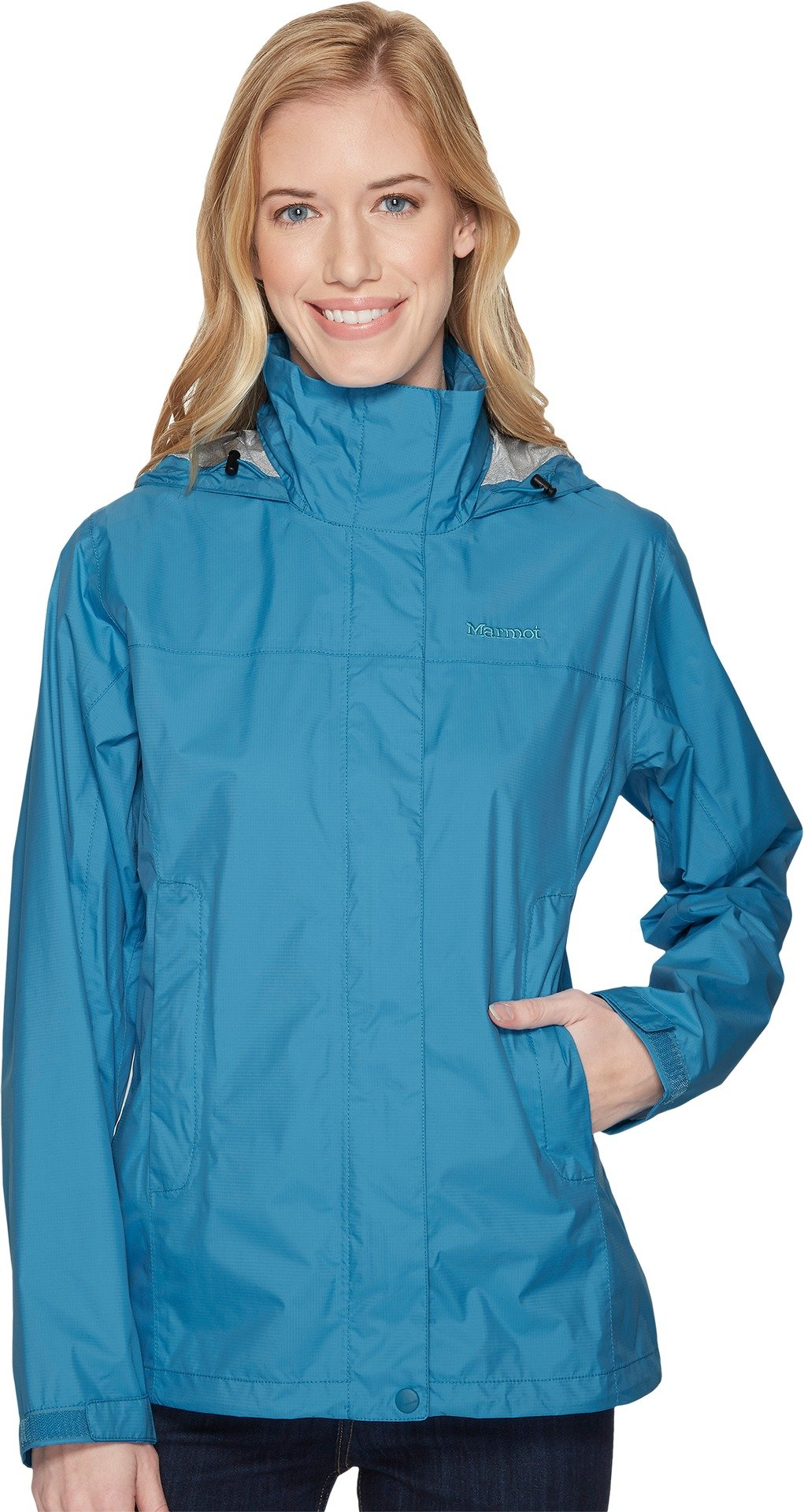 Marmot Women's PreCip Jacket Oceanic XX-Large by Marmot