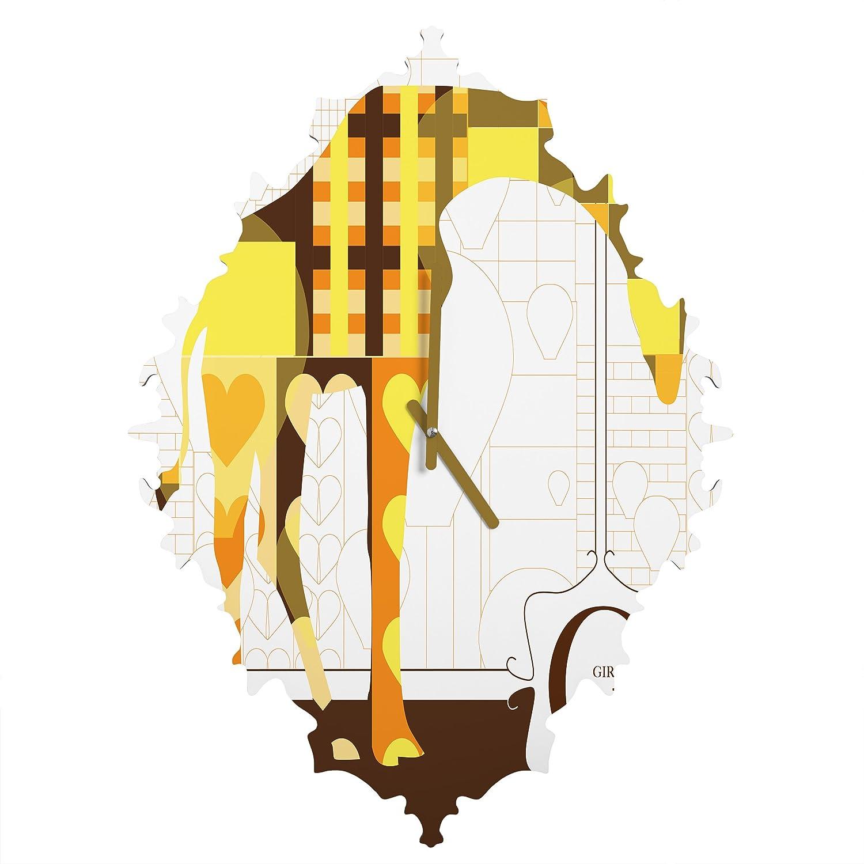 Baroque Clock Mister Horse Deny Designs Jennifer Hill Medium