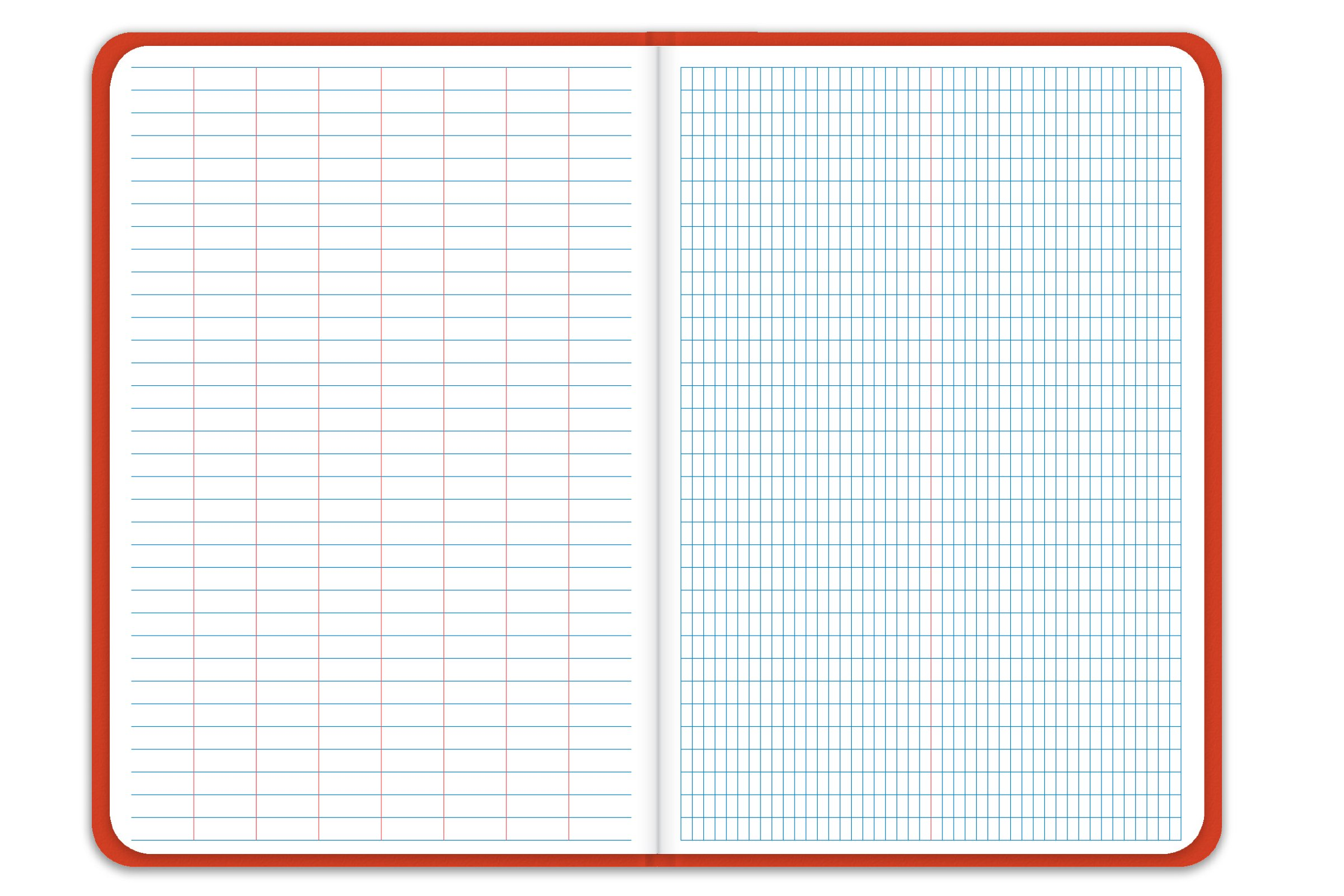 Elan Publishing Company E64-8x4K King Size Field Surveying Book 6 x 9, Bright Orange Cover (Pack of 24) by Elan Publishing Company (Image #2)