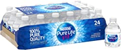 Nestle Pure Life Water, 8 Fl Oz (pack of 24)