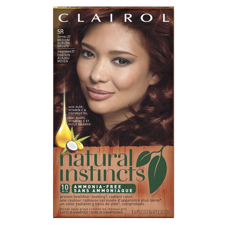 Clairol Natural Instincts 5r 22 Cinnaberry Medium Auburn Brown