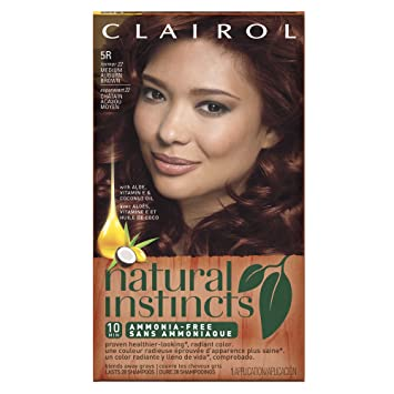 cinnaberry hair color 5r light clairol natural instincts 5r 22 cinnaberry medium auburn brown semipermanent hair brown