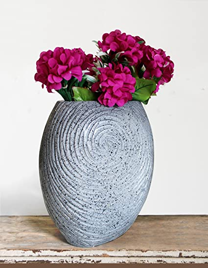 Buy Tied Ribbons Decorative Flower Vase Pot For Dining Table Bedroom