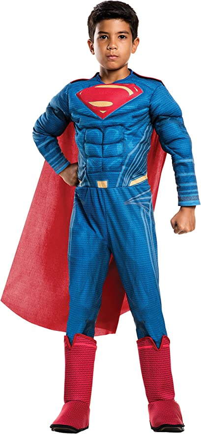 Deluxe Boys Aquaman Batman vs Superman Muscle Hero Book Week Kid Costume