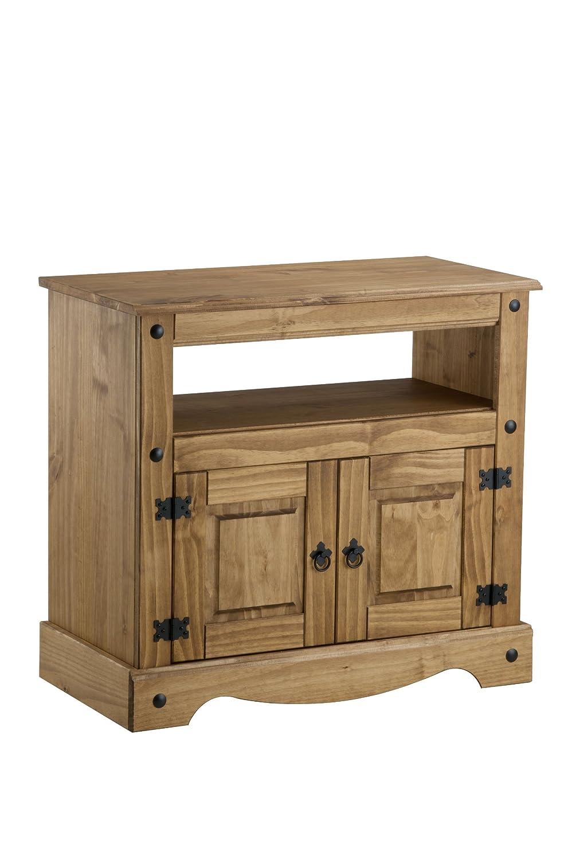 Birlea Corona - Mueble para televisión (madera de pino encerada ...