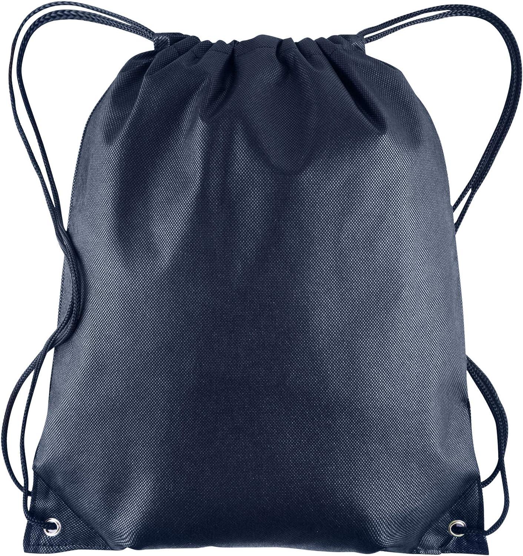 Blue Shoulder Bags Drawstring Backpack Snow Flake