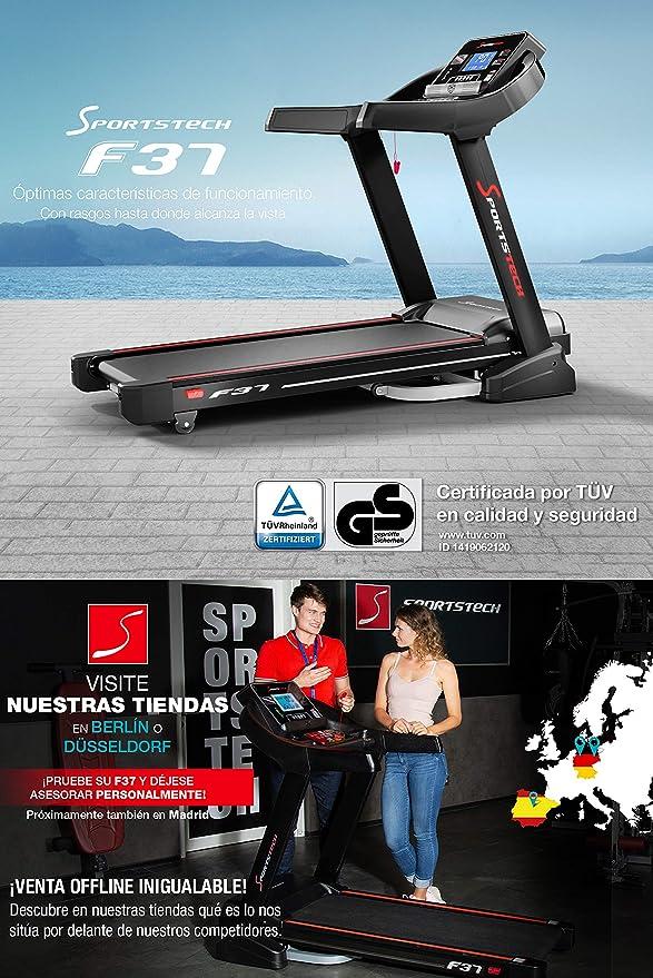 Sportstech F37 Cinta de Correr Profesional -Marca Alemana de ...