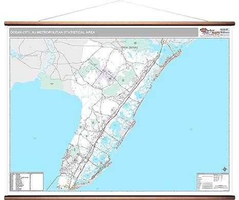 Amazon.com: MarketMAPS Ocean City, NJ Metro Area Wall Map ... on rio grande, bethany beach, ocean county nj map, long beach island nj map, ocean city boardwalk, ocean city md map, camden nj map, lbi nj map, ocean city maryland, ocean city high school, cape may, wildwood crest, ocean city parking map, sandy hook, beach haven nj map, cape may nj map, sea isle city, toms river nj map, ocean city boardwalk map, ventnor nj map, ocean city new jersey hotels, mystic island nj map, ocean county, north wildwood, avalon nj map, toms river, long beach island, cherry hill township nj map, seaside park nj map, point pleasant nj map, jersey city, ocean city new jersey streets, stone harbor, ocnj street map, atlantic city, asbury park, cape may county,