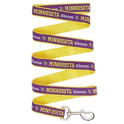 e30de79f670 Amazon.com : NFL Minnesota Vikings Pet Leash, Large : Pet Supplies