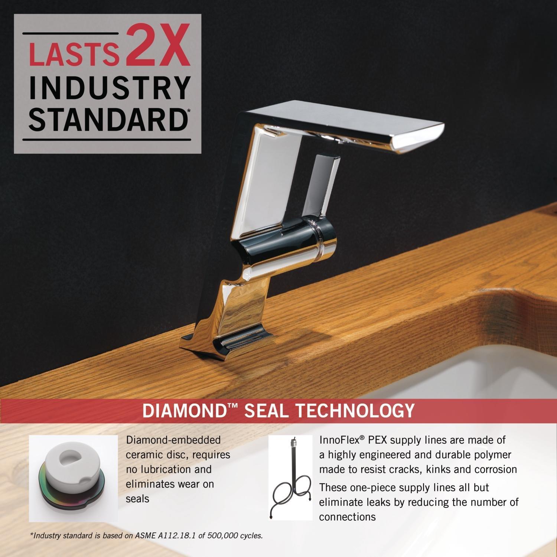 Amazon.com: Delta Faucet 699-DST Pivotal Single Handle Mid-Height ...
