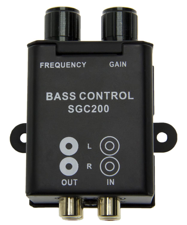 Mini Bass Control Adapter Controllo amplificatore Cinch Auto Active Regulator