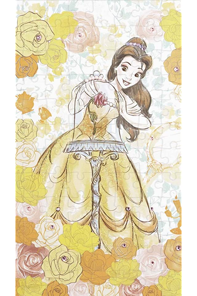 ディズニー 美女と野獣 Belle(ベル) iPhone(640×960)壁紙 画像70741 スマポ