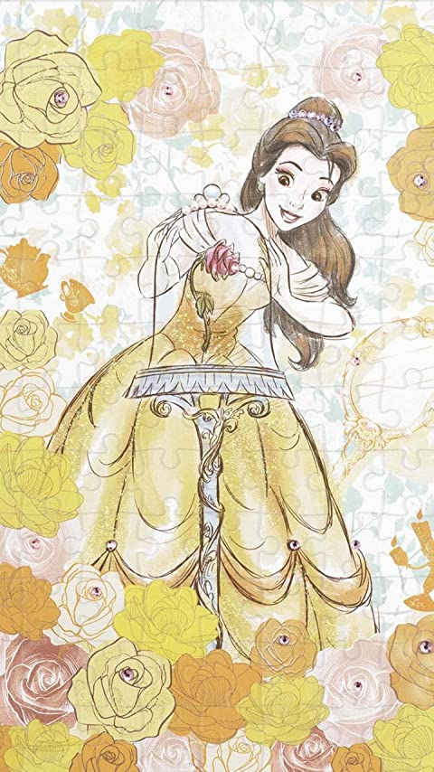ディズニー 美女と野獣 Belle(ベル) XFVGA(480×854)壁紙画像