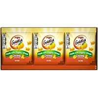 Pepperidge Farm Goldfish Made with Organic Wheat Cheddar Crackers, 6.75 oz. Multi-pack Tray, 9-count 0.75 oz. Single-Serve Snack Packs
