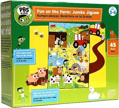 Jigsaw Puzzle: Kids Farm Fun