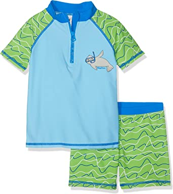 Playshoes Boys Uv-schutz Bade-set Maritim Trunks