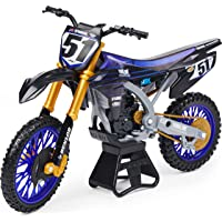 Supercross, Authentic Justin Barcia 1:10 Scale Collector Die-Cast Motorcycle Replica with Display Stand
