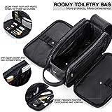 Elviros Toiletry Bag for Men Large Travel Shaving