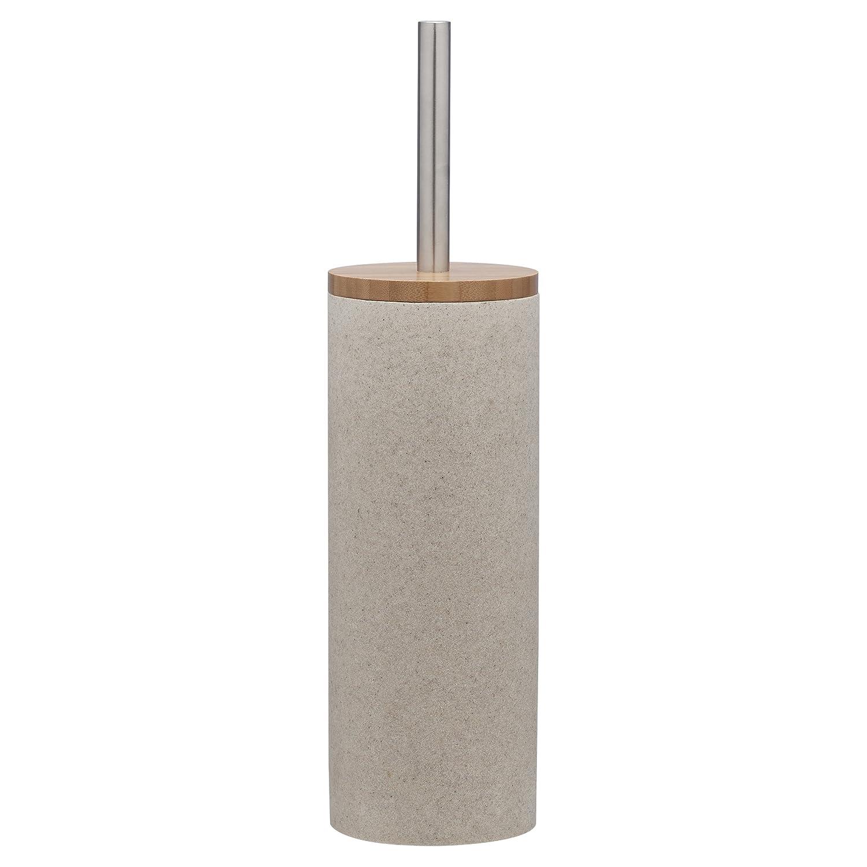 Sealskin 361910565ポリエステル樹脂Grace砂バスルームアクセサリートイレブラシセット、プラスチック、10 x 10 x 39 cm B01M3UVHSD