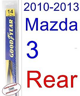 2010-2013 Mazda 3 Wiper Blade (Rear) (Goodyear Wiper Blades-Assurance