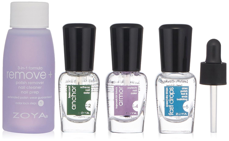 Amazon.com: ZOYA Mini Color Lock System Manicure Kit: Luxury Beauty