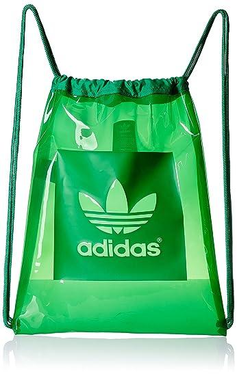 7005acb3f adidas Damen Sportbeutel Gymsack AC Green, 36 x 45 x 5 cm, 8 Liter ...