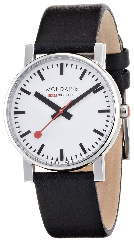 Mondaine Herren-Armbanduhr SBB Evo 35mm Analog Quarz A658.30300.11SBB