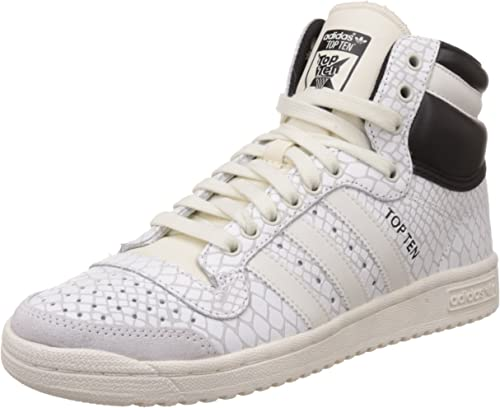 adidas Top Ten Hi, Zapatillas Altas para Mujer, Blanco (Off ...