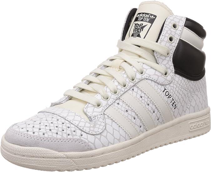 adidas Top Ten Hi, Zapatillas Altas para Mujer, Blanco (Off White ...
