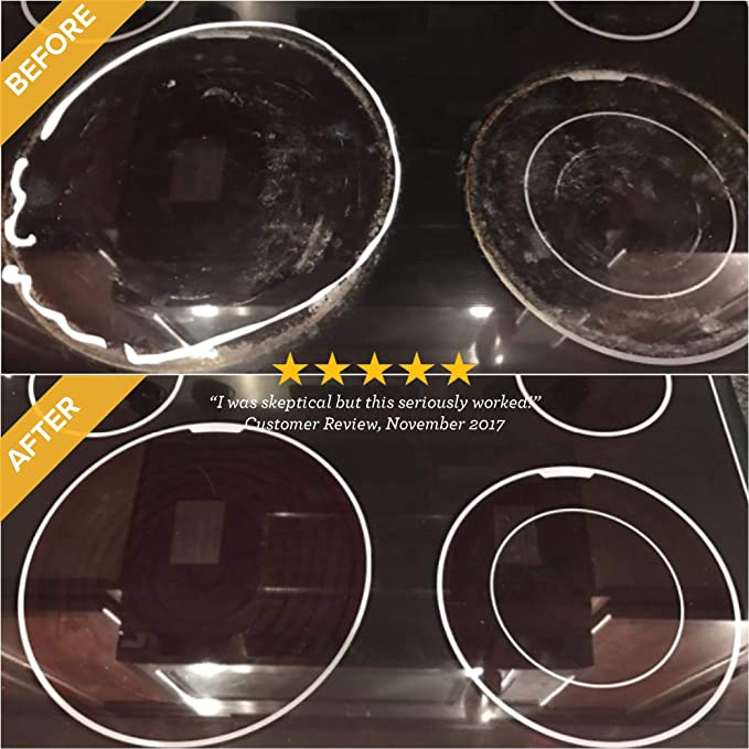 Amazon.com: Cooktop Cleaner y almohadillas para orejas ...
