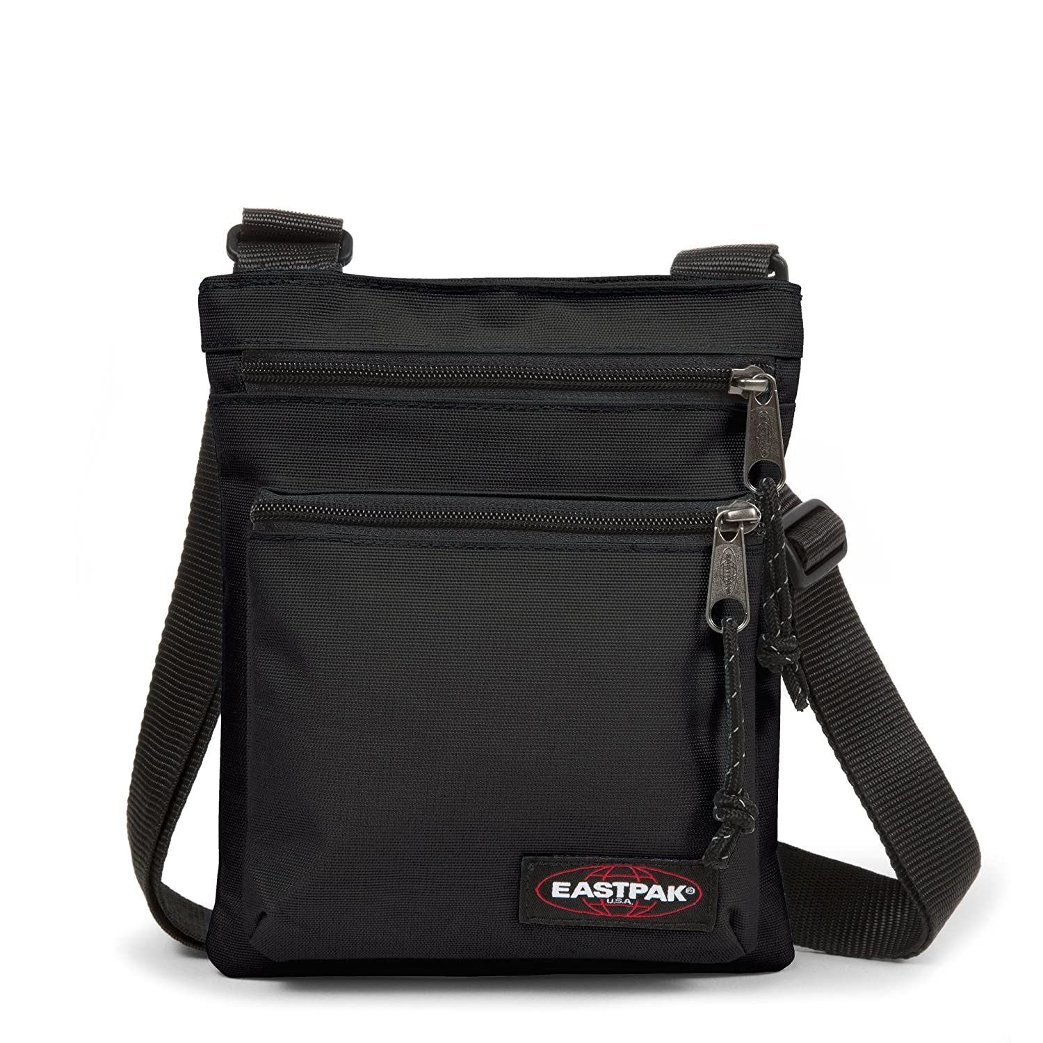 eastpak rusher messenger bag one size black
