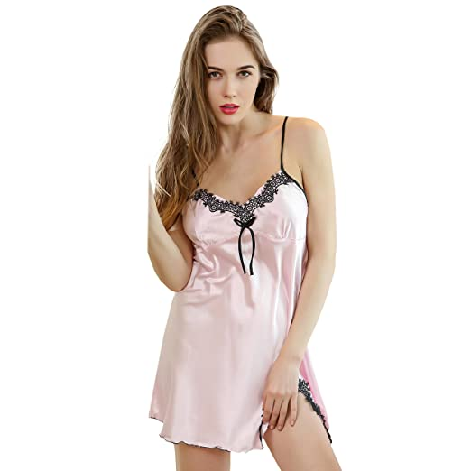Women's Sleepwears Charitable Sexy Fashion Women Red Simple Jumpsuits Sexy Charming Lingerie Sleep Dress Valentines Day Present Low Price Nightgowns & Sleepshirts