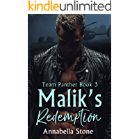 Malik's Redemption: MM Military Suspense (Delta Force Team Panther Book 3) book cover