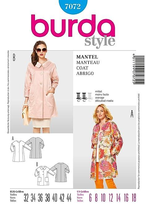 Per Kimono Amazon Stile Con Giacca In Maniche Burda Cartamodello 5Fc1qPfgxp