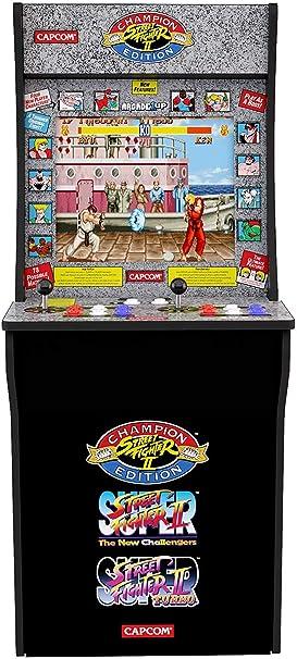 Arcade 1Up Street Fighter - Máquina Arcade Retro: Amazon.es ...