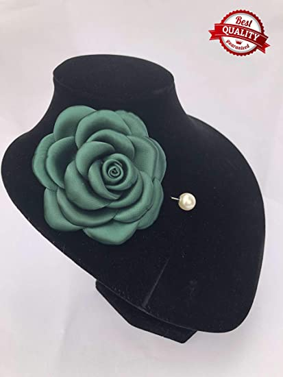 Flower brooch pin for women ladies corsage hat pin unique gifts for her Mother/'s day gift Valentine/'s day peony brooch