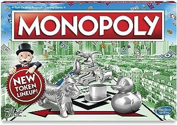Monopoly Classic Juego de Mesa en Idioma inglés: Amazon.es: Juguetes y juegos