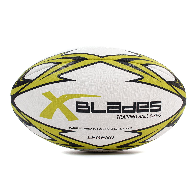 X cuchillas leyenda Liga formación Pelota de Rugby Union, color ...