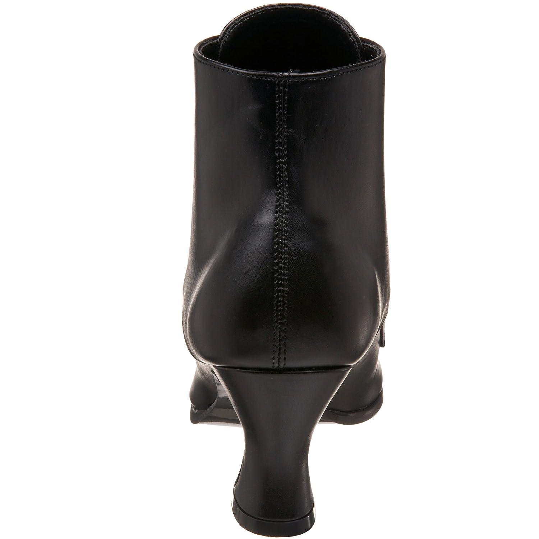 Pleaser Unisex-Erwachsene Vic35, Unisex-Erwachsene Pleaser Kurzschaft Stiefel Schwarz (Black) e77df8