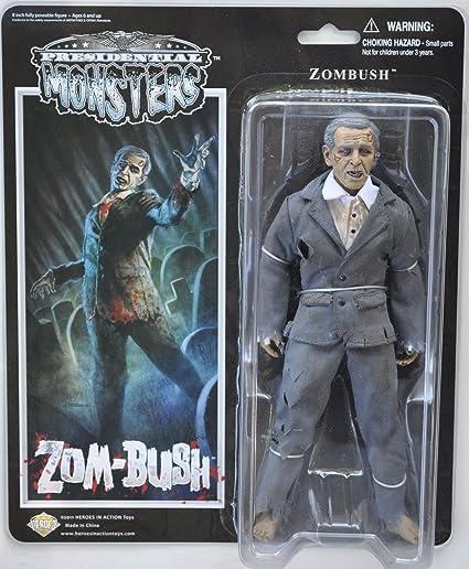 Zombush - Presidential Monsters - George W Bush as a Zombie - 8 1/4