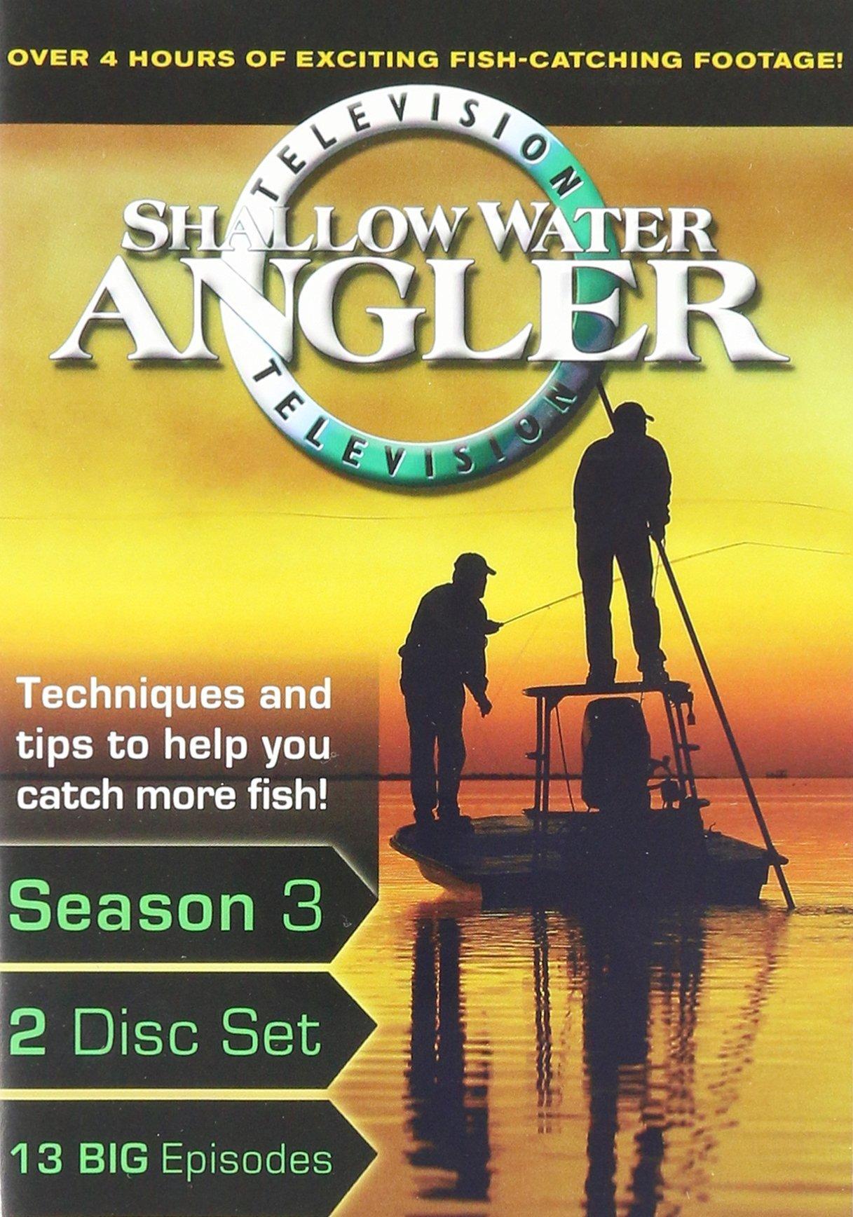 Shallow Water Angler TV Season 2 (2007) 2 DVD Se3