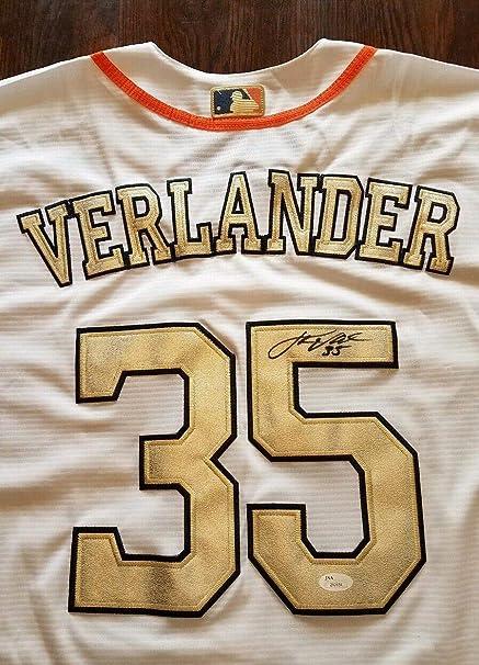 get cheap c31d9 520b7 Justin Verlander Autographed Signed Memorabilia 2017 World ...